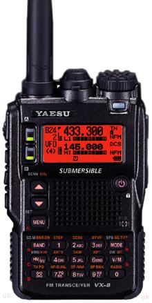 Yaesu VX-8DR HT Programming & CHIRP | What Da Bump